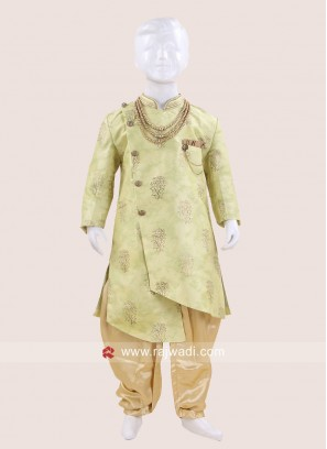 Marvelous Art Silk Indo Western For Kids