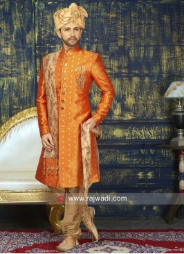 Marvelous Art Silk Indo Western With stylish Dupatta