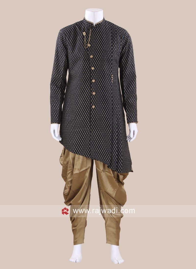 Marvelous Black Patiala Suit