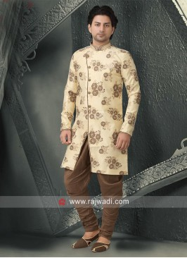 Marvelous Brocade silk Fabric Indo Western