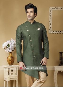 Marvelous Green Color Kurta