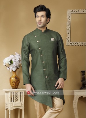 Marvelous Green Color Kurta