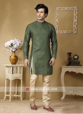 Marvelous Green Color Kurta Set