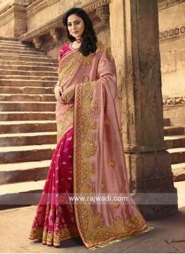 Marvelous Half N Half Saree