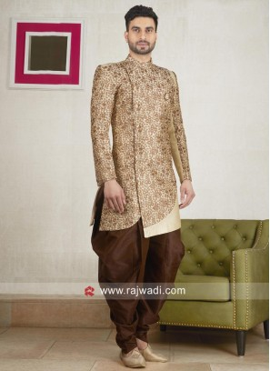 Marvelous Indo Western in Cream Color