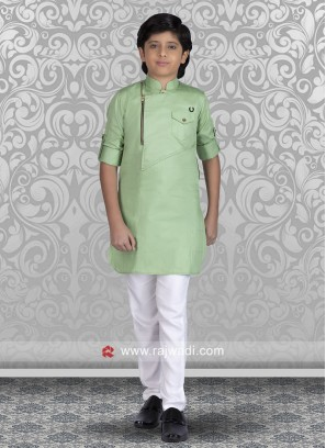 Marvelous Cotton Silk Fabric Kurta Pajama