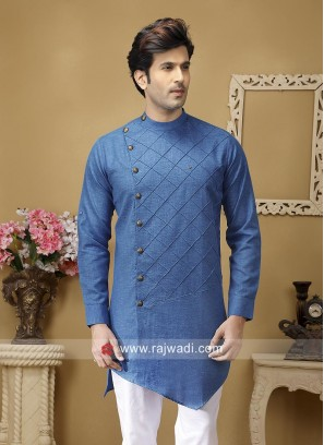 Marvelous Round Neck Kurta For Party