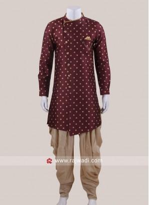 Marvelous Art Silk Fabric Indo Western