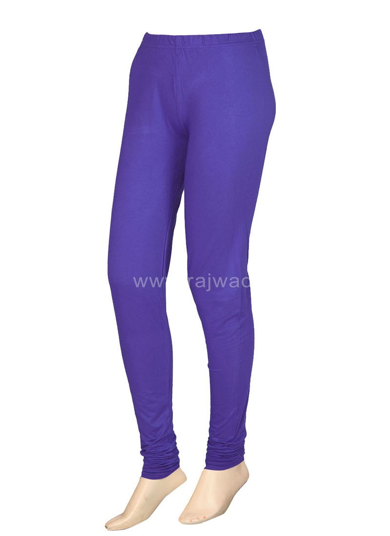 Medium Purple Coloured Leggings
