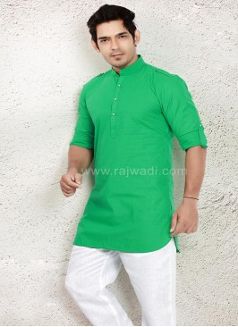 Medium Sea Green pathani Suit