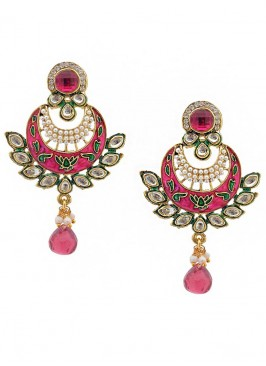 Meenakari Beauteous Drop Earrings