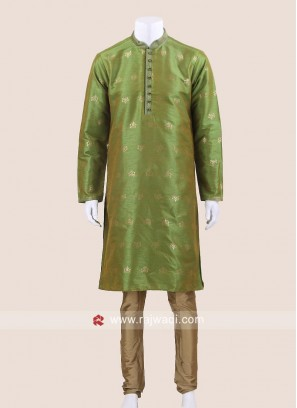 Mehndi Green Kurta Pajama