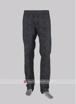 Men black pyjama