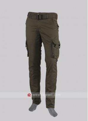 Men olive color cargo pants