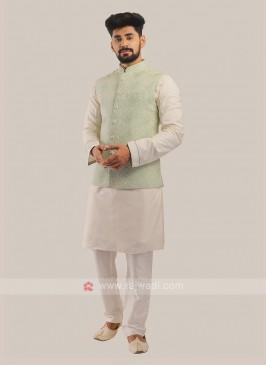 Men's Nehru Jacket Suit