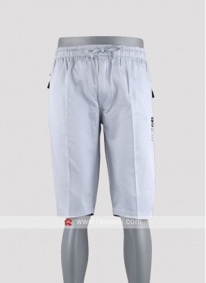 Men sky blue night wear shorts