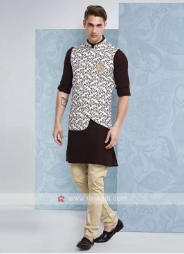 Mens Designer Nehru Jacket Suit