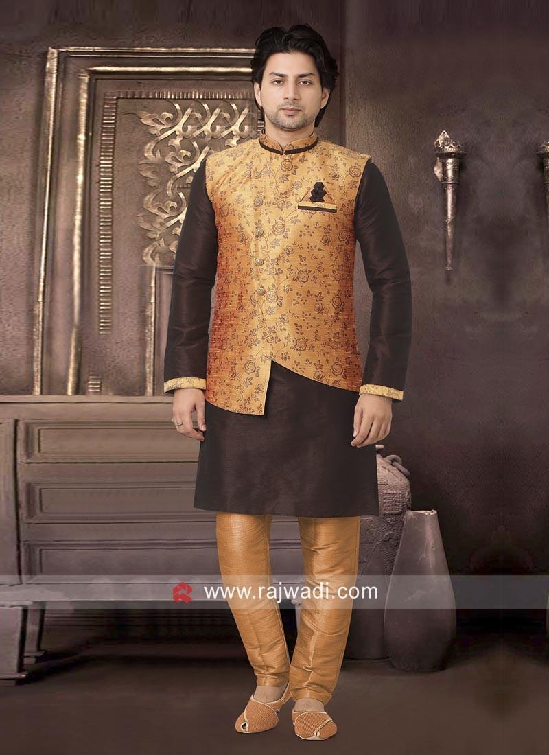 Stylish Wedding Nehru Jacket