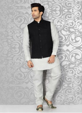 Mens Nehru Jacket with Kurta