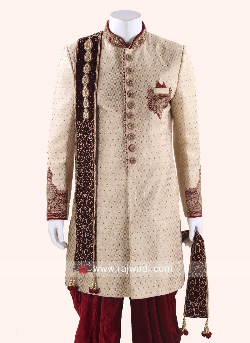 Mens Sherwani Dupatta Online