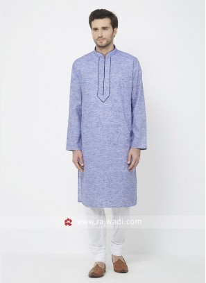 Medium Purpal Color Kurta Pajama