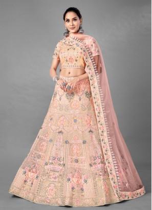 Miraculous Net Thread Lehenga Choli