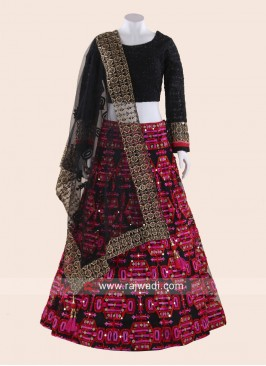 Mirror Work Lehenga Choli