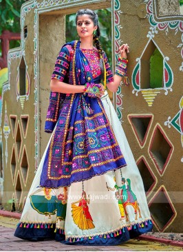 Mirror Work Navratri Chaniya Choli