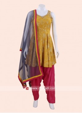 Mirror Work Traditional Patiala Suit