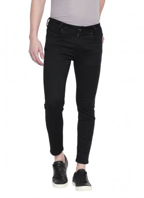 Mufti Black Jet Ankle Length Fashion Jeans