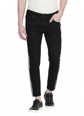 Mufti Black Jet Free Sprited Indigo Ankle Length Jeans