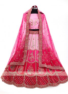 Multi Color Bridal Lehenga Choli