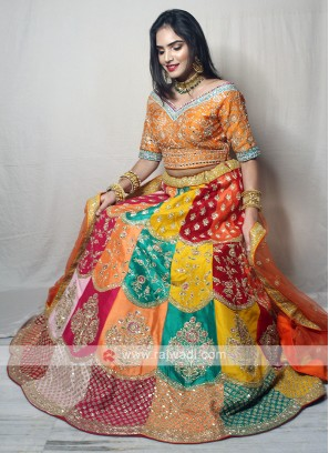 Multi Color Lehenga Choli