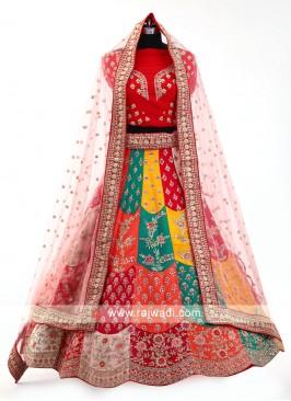 Multi Color Lehenga Choli