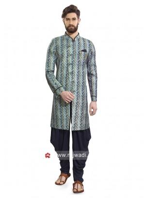 Multi Color Patiala Suit