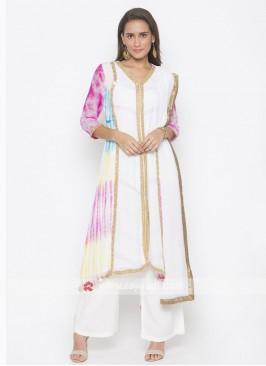 Designer Multi colour salwar suit