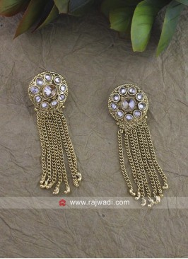 Multi Layered Golden Earrings