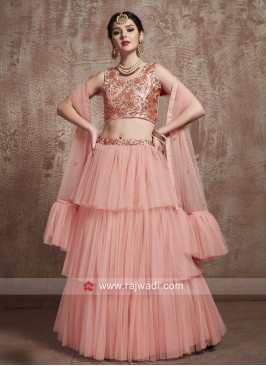 Multi Layered Lehenga Choli