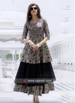 Multi Layered Party Wear Kurti