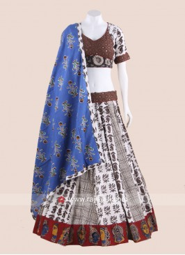 Multicolor Cotton Chaniya Choli