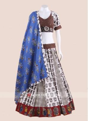 Multicolor Cotton Chaniya Choli