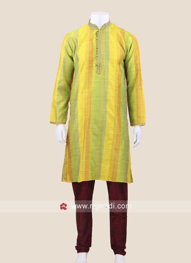 Multicolor Kurta Pajama