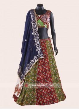 Multicolor Navratri Chaniya Choli