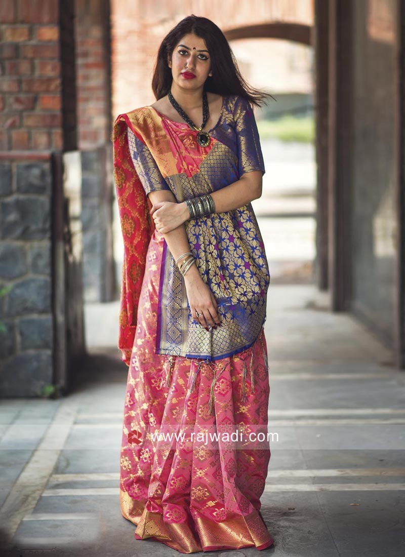 Multicolor Patola Saree