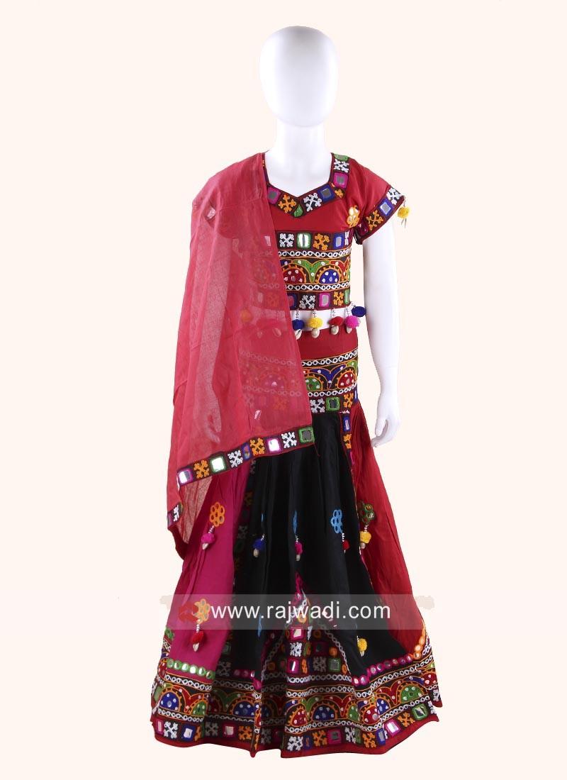 Multicolor Traditional Chaniya Choli
