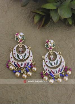 Multicolor Traditional Earrings