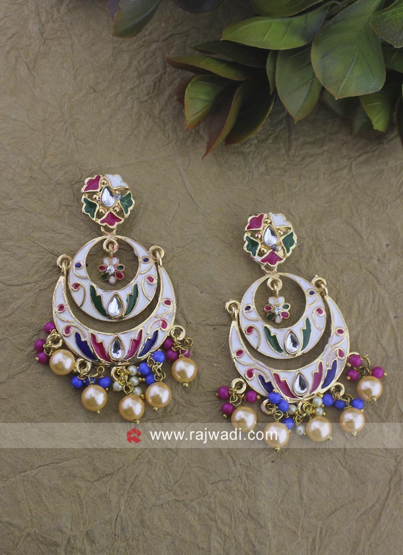 Multicolor Traditional Earrings