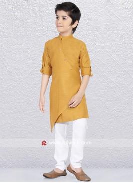 Golden Yellow Kurta Pajama