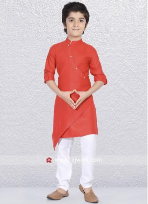 Marvelous Rust Color Kurta Pajama