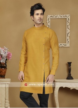 Mustard Yellow Kurta For Wedding